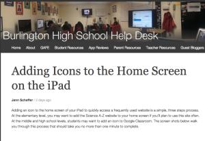 adding icons blog
