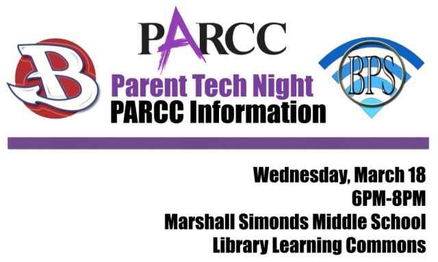 PARCC Parent Tech Night DJV