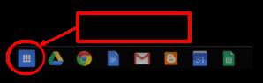 App Launcher Arrow