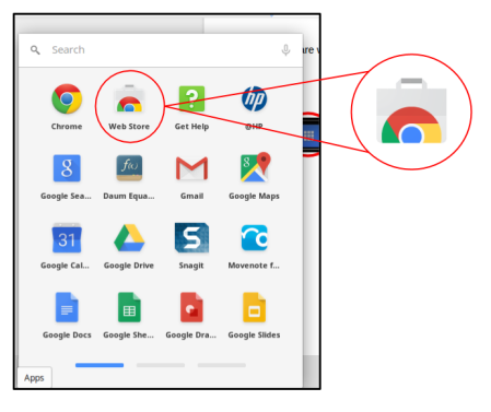 Chrome Store Icon