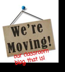 moving classroom blog